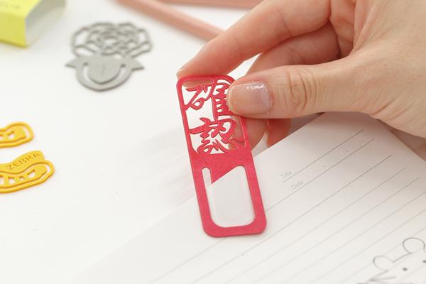 紙クリップ使用例